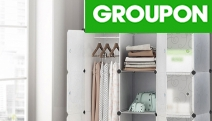Need More Storage for Your Fabulous Outfits? Shop this DIY Wardrobe Storage Cabinet! Rust-Proof & Stackable Design. Choice of 12 or 16-Cube Cabinet