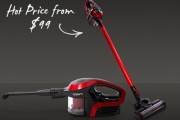 Stress Less as Cleaning is Made Easy! Vacuuming Your Home will Never be the Same w/ this Lightweight, Cordless Stick Vacuum! Sleek + Innovative Design
