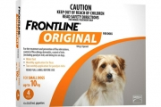 Keep Your Four Legged Bestie Content with Frontline Original Products! Used to Treat & Prevent Fleas in Dogs. Ft. Products for a Range of Sized Dogs