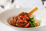 Head Out for Dinner @ Encore Restaurant, Located within the Iconic Hotel Grand Chancellor! Mains Incl. Slow-cooked Lamb Shoulder & More