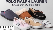 Treat Dad this Father's Day w/ Fashionable Polo Ralph Lauren Shoes & Slippers! Save Up to 50% Off Styles for the Whole Fam Incl. Men's Sneakers & More