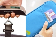 Avoid Check-in Woes w/ a Digital Travel Scale! Great to Know How Much Your Bag Weights Before Getting to the Airport. Upgrade for a Travel Wallet