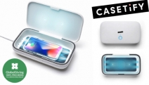 Keep Your Phone Safe from Germs with Casetify - UV Sanitizer! Serves as a 2-in-1 Sanitizer & Wireless Charger + 100% Proceeds to Coronavirus Relief