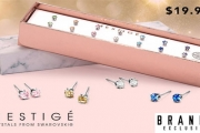 The Mestige Solitaire Everyday Pack Earrings w/ Swarovski Crystals is the Perfect Addition to Your Jewelry Collection. Incl. 7 Gorgeous Pairs