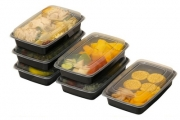 Get Your Meals Organised w/ 10 Reusable Food Storage Containers! Opt for Separate Compartments for Perfect Portions, Ideal for School Lunches & More