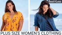 Achieve Effortless Style in Best & Less Plus Size Women's Clothing! Shop the Range of Dresses, Activewear, Denim, Sleepwear & More All in Sizes 18-26