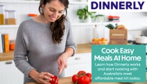 Whip Up Quick & Easy Dinners with Dinnerly, Australia's Most Affordable Meal Kit! Receive Recipes & High Quality Ingredients Straight to Your Door!