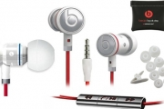 Turn the Beat Around w/ urBeats In-Ear Headphones by Dr. Dre for Superior Audio Quality! Incl. RemoteTalk Cable to Take Calls & Control Music
