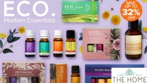 Unwind After a Long Day with the Divine Scents from ECO. Aromatherapy! Save Up to 32% Off the 12-Pk Ultimate Wellbeing Essential Oils & More