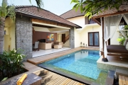 CANGGU, BALI Serene Pool Villa Holiday w/ 5 Nights at Award-winning Lalasa Villas! Self-contained Villa w/ Brekkie, Lunch or Dinner, Discounts & More