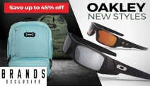 The Coolest Urban Adventure Essentials! Save Up to 45% Off Oakley Backpacks & Sunglasses. Shop a Range of Colours & New Styles for Men & Women!