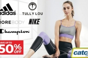 Sweat in Style with the Yoga & Activewear Essentials Sale! Save Up to 50% Off Big Brands Incl. Nike, Champion, Adidas, Lorna Jane, New Balance & More