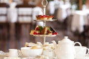 Treat Yourself to an Exquisite High Tea at Bethany on High! Indulge in Scones w/ Cream & Conserve, Sandwiches & Pastries + More. Opt for Up to 6-Ppl