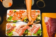 Enjoy a Whole Kingfish or Ocean Trout Experience for 10 @ Crane Bar! Learn How Fresh Sashimi is Prepared from Beginning to End. Opt for 20 or 30-Ppl
