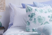 Sleep in Cloud-Like Comfort w/ a Set of 1000TC Cotton Rich Sheets! Choose from a Range of Watercolour Florals, Paisley Motifs & Geometric Prints