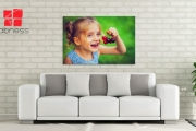 Bring Your Memories to Life w/ the Personalised Gallery-Wrapped Canvas Print! Free App to Upload Photos from Desktop or Social Media. Range of Sizes