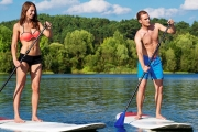 Experience a Fun & Amazing Core Workout w/ a 2-Hour Introduction to Stand-Up Paddleboarding at SoulKite! All Equipment Provided. 3 Bicton Locations