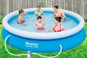 Splash Into Summer w/ an Above Ground Pool! Ideal for Parties, BBQs & Outdoor Entertaining. A Range of Sizes, Each Pool Incl. Pump & Filter