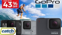Capture All the Action with GoPro Action Cameras & Accessories! Save Up to 43% Off the GoPro Sports Kit, Grip, Extension & Tripod Set + Lots More