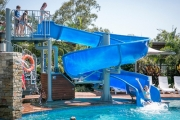 GOLD COAST Chase the Sunshine with an Award-Winning Family Bungalow Escape for Up To 5 at Gold Coast Holiday Park! Incl. Kayak & Pedal Car Hire