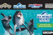 GOLD COAST 5-Nights at Award-Winning Sea World Resort & Water Park for 4! Unlimited Theme Park Entry to Sea World, Warner Bros. Movie World & More