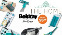 Get Your Home Spick & Span with this New Range of Beldray Cleaning Essentials! Ft. the 5-Pc Cleaning Set, Hard Floor Sweeper, Steam Cleaner & More
