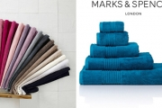 Update Your Bathroom for Less w/ the Marks & Spencer Towel Sale! Shop Face Washers, Hand Towels, Bath Towels & More in a Range of Vibrant Colours