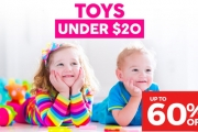 Get The Kids Christmas Prezzies Out of the Way Early This Year! Shop 500+ Toys, All Under $20! Plus P&H. Star Wars, Paw Patrol, Marvel Legends & More