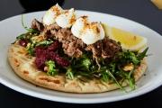 Feed Your Cravings w/ a Hearty 3-Course Modern Mediterranean Lunch or Dinner w/ Wine for 2 @ Nik@Nicholson! Porterhouse Steak, Mushroom Gnocchi & More