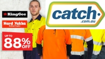 Tradies, Update Your Shabby Workwear w/ the Workwear Clothing Sale from $9.99! Shop Hi-Vis Vests, Shirts, Shorts & More from Hard Yakka & KingGee