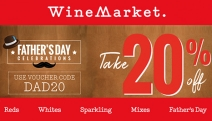 Get Party Ready with the Father's Day Celebration Sale Online Now at WineMarket! Enjoy 20% Off Sitewide w/ Code DAD20. Shop Reds, Whites & More