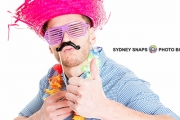 Make Your Event Unforgettable w/ a 1.5-Hr Photo Booth Hire from Sydney Snaps Photo Booth! Incl. Unlimited Prints, 2 Attendants & Props