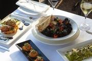 Fill Up On Award-Winning Fare w/ Lunch or Dinner + Drinks @ Domanis Cafe Restaurant, Main Beach! Ft. Harissa-Spiced Lamb Rump & Pomegranate Salad