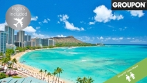 HONOLULU w/ FLIGHTS Say Aloha to a 5-Night Stay at Hyatt Regency in Waikiki Beach! Ft. Ukulele & Hula Lessons, Free Daily International Calls & More