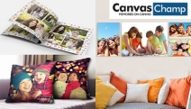 Last Minute Gift Shopping? Create a Personalised Photo Gift for Loved Ones this Xmas @ Canvas Champ. Photobooks, Canvas Prints, Photo Pillows & More