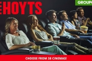 Last Chance to Make Movie Night More Exciting! Enjoy Up To 61% Off Hoyts Cinema Tix! Child, Adult & LUX Tix Across 38 Cinemas! Hurry, Final Week!