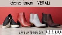 Get Your Dose of Fashionable Footwear with Must Have Women's Shoes! Save Up to 55% Off Sol Sana, Camper, FitFlop, Diana Ferrari, Walnut & More