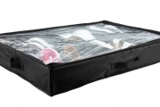 Don't Do a Cinderalla, Keep Your Shoes Together! Shop this Under-Bed Shoe Organiser! Holds Up to 6 Pairs of Shoes w/ a Transparent Zipped Cover
