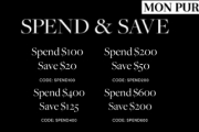 Grab Your Own Mon Purse Bag from this Spend & Save Collection! Personalise Your Bag & Add Your Name or Initials. Apply Code & Save Up to $200