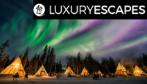 CANADA Witness the Magical Northern Lights on a 12-Day Winter Wonderland Luxury, Small-Group Tour of Canada's West! Luxury Accom, Select Dining & More