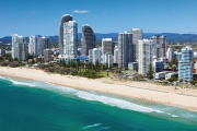 GOLD COAST Explore QLD's Most Famous Beach Town w/ 5N Stay @ Aria Apartments Broadbeach. 2 Bedroom, Incl. Wine & Choccies on Arrival + Late Checkout