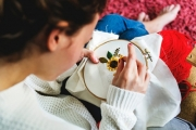 Learn the Craft of Embroidery with an Online Diploma Course! Only $9.95, Ft. Comprehensive Knowledge w/ Written, Illustration & Video Instructions
