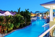 PORT STEPHENS 3N Laidback Coastal Break for 2 at Oaks Pacific Blue Resort! Opt for 5N. Lagoon Apartment Stay w/ Bottle of Wine, Late Checkout & More