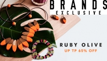 Finish Your Look w/ Distinctive & Fun Jewellery from Ruby Olive! Shop Necklaces, Earrings & More in Seasonal Colours & the Latest Trends. Plus P&H