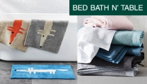 Add a Touch of Elegance to Your Bathroom w/ the Bath Towels, Mats & Accessories Sale from Bed Bath N' Table! Antique Bath Runner, Mr Fox Towels + More