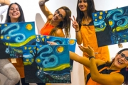 Unleash Your Creativity with a 2-Hour Painting Experience from Paint It Up!  Ideal for Beginners. Incl. All Materials + Take Your Artwork Home