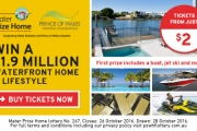 Buy Your Ticket in the Mater Prize Home Lottery for Your Chance to Win a Luxury Waterfront Home on the Gold Coast Worth $1.9 Million!