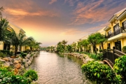VIETNAM 6-Night Riverside Charm in UNESCO-Listed Hoi An @ KOI Resort & Spa! Garden View Bungalow for 2 w/ Select Daily Dining, Massages & More