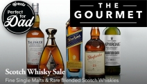 Pour a Drop with the Single Malt & Blended Scotch Whisky Sale! Incl. Johnnie Walker, Talisker & More. Perfect Gift Idea this Father's Day