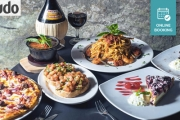 The Rocks are Sure to Impress w/ a 3-Course Italian Lunch & Wine for Two at Caminetto Restaurant! Think Spaghetti Marinara & More. Upgrades Available